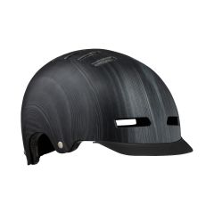 Lazer Street Deluxe Helmet Dark Wood