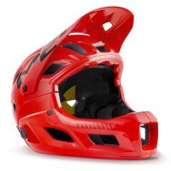 MET Parachute MCR Fullface Helmet Red/Glossy