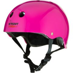 Wipeout Youth Helmet Neon Pink