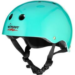 Wipeout Youth Helmet Teal Blue