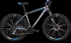 Kross Hexagon 5.0 29 Mountain Bike Graphite/Silver/Blue (2020)