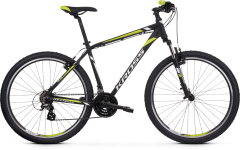 Kross Hexagon 2.0 26 Mountain Bike Black/White/Lime MD (2020)