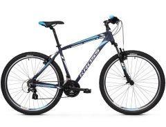 Kross Hexagon 2.0 26 Mountain Bike Navy/Silver/Blue (2019)
