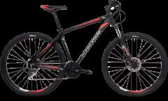 Kross Hexagon 6.0 29 Mountain Bike Black/Graphite/Red MD (2020)
