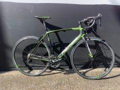 Second Hand Bike Merida Scultura 4000 Road Bike Black/Green MD/LG