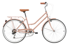 Pedal Uptown 24 Girls Cruiser Bike Rose Gold