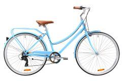 Pedal Uptown DLX Cruiser Bike Blue