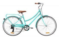 Pedal Uptown DLX Cruiser Bike Green