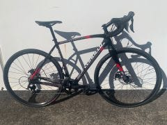 Second Hand Bike Specialized  Crux 54cm Black/Red carbon MD