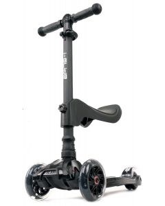 I-Glide with Lights and Seat Kids Scooter Black