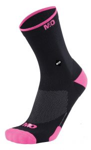 M2O Endurance Band Socks Black/Pink