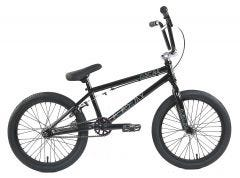 Academy Inspire 18 Inch BMX Bike Gloss Black/Rainbow (2019)
