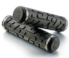 Jet Black Rivet Lock On Grips [w/Rings] (Black) | 99 Bikes