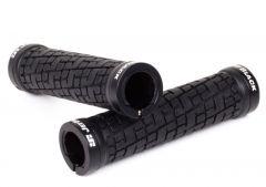 JetBlack Tack LockOn Grips | MTB (Black) | 99 Bikes
