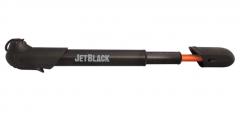 Jet Black Tornado Mini Pump   99 Bikes