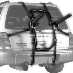 Jet Black Jet Track Bike Carrier | Trunk Rack (3 Bike) [w/Bungee Cords] | 99 Bikes