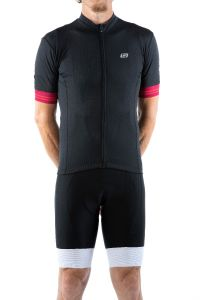 Bellwether Flight Short Sleeve Jersey Black