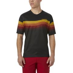 Giro Roust MTB Short Sleeve Jersey Heateave Black/Yellow/Red