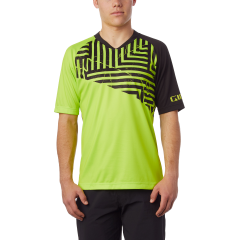 Giro Roust MTB Short Sleeve Jersey Lime Green/Black