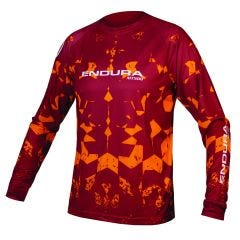 Endura MT500 Kali LTD Long Sleeve Jersey Rusty Red