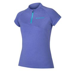 Endura Singletrack Women's Short Sleeve Jersey Lite Cobalt