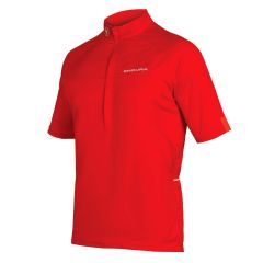 Endura Xtract Short Sleeve Jersrey Red