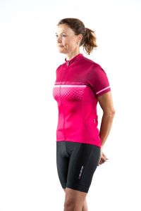 Bellwether Gradient Women's Short Sleeve Jersey Ruby