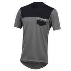 Pearl Izumi Divide Jersey Smoked Pearl/Black