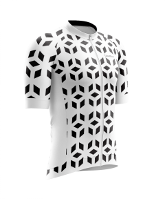Cinettica Prism Short Sleeve Jersey White