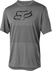 FOX Ranger Foxhead Short Sleeve Jersey Pewter
