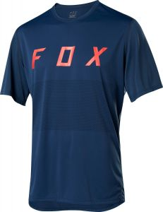 FOX Ranger Short Sleeve Jersey Navy