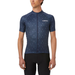 Giro Chrono Sport Sublimated Short Sleeve Jersey Turbine Midnight