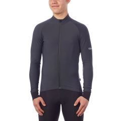 Giro Chrono Thermal Long Sleeve Jersey Charcoal