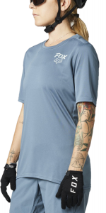 FOX Ranger Short Sleeve Women's Jersey Matte Blue