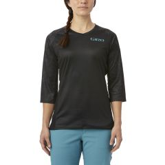 Giro Roust MTB Women's Short Sleeve Jersey Black Floral