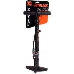 Jet Black Little Fella Floor Pump