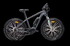 E-Green Sport 500 Electric Mountain Bike Dark Satin/Grey/Green (2021)