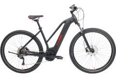 Cube Nature Hybrid ONE 400 Trapeze Electric Hybrid Bike Black/Red (2021)