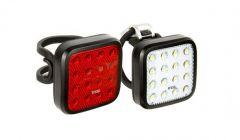 Knog Blinder Mob Twinpack Kid Grid Lightset