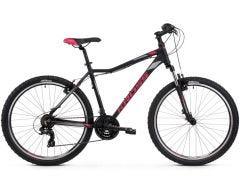 Kross Lea 1.0 26 Women's Mountain Bike Black/Raspberry/Graphite (2019)