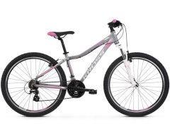 Kross Lea 2.0 27.5 Women's Mountain Bike Silver/White/Pink SM (2019)