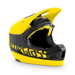 Bluegrass Legit Carbon Full Face Helmet Black/Yellow