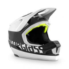 Bluegrass Legit Carbon Full Face Helmet Black/White