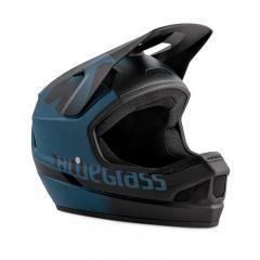 Bluegrass Legit Full Face Helmet Petrol Blue/Black