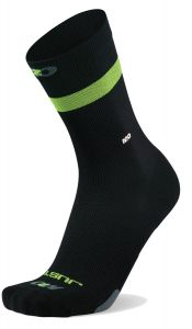 M2O Endurance JSI Socks Black/Green L/XL