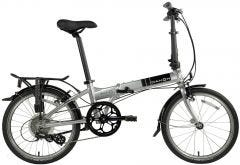 Dahon Mariner D8 Folding Bike Brushed Silver (2020)