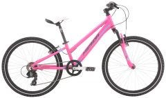 Merida Matts J24 Girls Bike Pink Barbie Blue/Grey (2021)