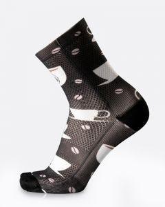MB Wear Fun Socks Coffee