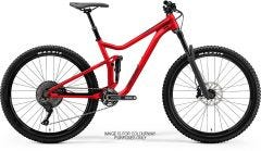 Merida One Forty 700 Mountain Bike Glossy Race Red/Black (2021)
