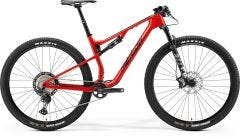 Merida Ninety Six RC XT Mountain Bike Glossy Race Red/Black (2021)
